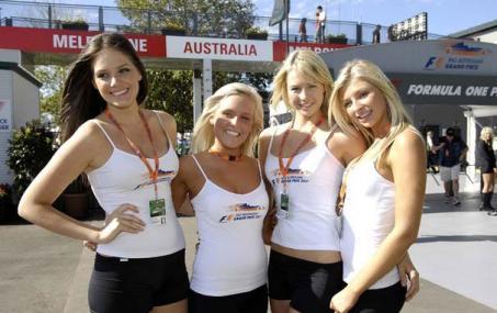 Pit Babes Gran Premio de Australia 2007