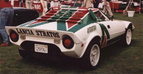 Lancia Stratos, el mito de los rallies