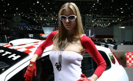 Las chicas del Salón del Automóvil de Ginebra 2007